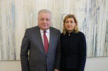 Ministrė Rusijos ambasadoriaus prašė pagalbos dėl K. Donelaičio muziejaus