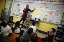 Čikagos lietuvė: Amerikos darželiuose vaikai miega su batais ir valgo picas