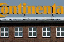 """""""Continental"""" pradeda 95 mln. eurų vertės gamyklos statybas Kaune"""