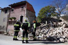 Žemės drebėjimą Italijoje užfiksavo ir Lietuvos seismologinis centras