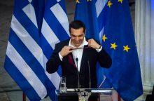 Graikija džiaugiasi istoriniu susitarimu dėl skolų