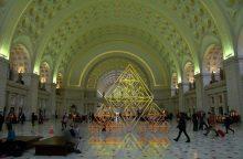 Vašingtono stotyje bus eksponuojama garsaus lietuvių menininko skulptūra