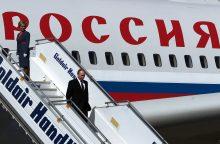 Tikisi, kad per V. Putino vizitą į Karaliaučių pavyks išvengti incidentų