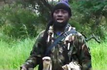 """Pasirodė vaizdo įrašas, kuriame matomas """"Boko Haram"""" lyderis"""