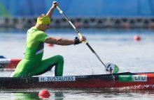 Kanojininkas H. Žustautas Europos jaunimo čempionate neturėjo lygių