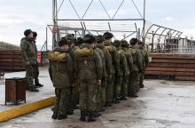 Lietuvos inspektorius tikrina Rusijos karinį dalinį Pskove
