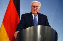 Šią savaitę Lietuvoje laukiama Vokietijos prezidento