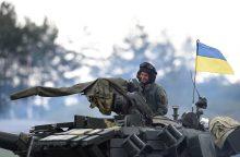 Lietuva: Rusijos siūlymas dėl JT pajėgų dislokavimo Ukrainoje – nepriimtinas