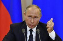 Kremlius nekomentuoja pranešimų apie būsimą V. Putino vizitą į Prancūziją