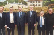 KT pirmininkas Kijeve susitiko su Krymo totoriais