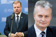 Prezidento rinkimai: žmonės balsuotų už S. Skvernelį ir G. Nausėdą