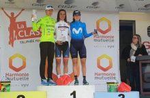 Prancūzijoje – geriausias dviratininkės R. Leleivytės pasiekimas šį sezoną