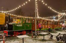 Vilnius – kaip Berlynas? Alternatyvus Kalėdų miestelis įsikūrė geležinkelio stotyje