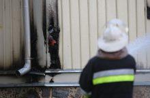 Klaipėdos rajone kilus gaisrui nukentėjo žmogus