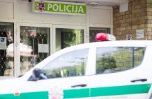 Girtas biržietis brovėsi į policijos komisariatą