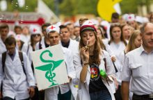 Stojantieji veržiasi studijuoti sveikatos mokslus