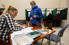 Antrajam Seimo rinkimų turui žemėlapių sistema jau paruošta