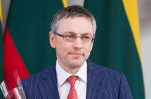Seimo pirmininkas neabejoja V. Bako lojalumu Lietuvai