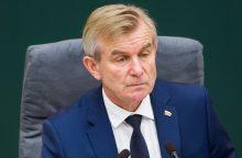 V. Pranckietis kreipėsi į etikos sargus dėl skandalingojo taikinio Seime