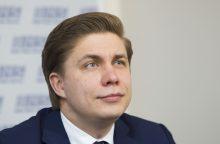 VTEK: ūkio ministras M. Sinkevičius ir jo tėvas pažeidė įstatymus