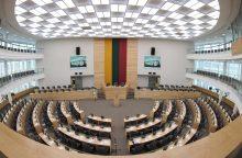 Įsigaliojo draudimas agituoti antrajame Seimo rinkimų ture