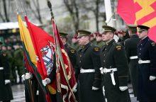 Prezidentė trims karininkams suteikė pulkininko laipsnius