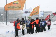 Lietuviai labiau pasitiki gaisrininkais nei profsąjungomis