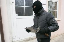 Vagys iš namo Vilniaus rajone išnešė turto už 20 tūkst. eurų