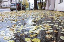 Su rinkimais lietus nesibaigs