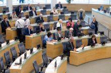 Ekspertai: iniciatyva mažinti parlamentarų skaičių – noras patikti rinkėjams