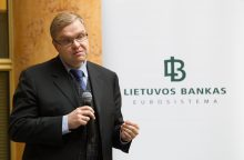Brangioms bankų paslaugoms uždėtas apynasris