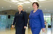 Politologas: gal S. Skvernelis D. Grybauskaitę supainiojo su L. Graužiniene