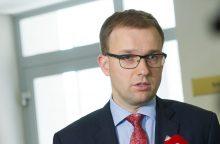 """V.Gapšys: dėl į socialdemokratų frakciją įsiliejusių """"darbiečių"""" spręs nauja vadovybė"""