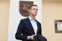 """""""MG Baltic"""" byla: G. Landsbergis aiškinasi dėl pažinties su R. Kurlianskiu"""