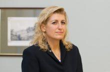 Ministrė aiškina, kad investicijos į Operos teatrą yra tęstinės
