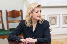 Vadovauti Kultūros tarybai siūloma palikti dabartinę jos pirmininkę