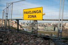 Dėl Gedimino kalno skelbiama ekstremali situacija valstybės mastu