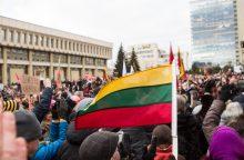 Rengia eitynes: Lietuvos valstybės vėliavai – šimtas metų
