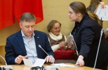 Žemės reikalus tirti vėl siūloma A. Širinskienės vadovaujamam komitetui