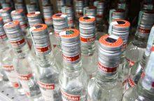 Akcizo didinimas labiausiai pabrangins stipriuosius gėrimus