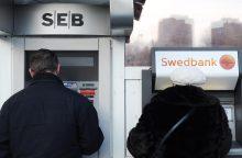 Lengvatų turintys žmonės už bankų paslaugas mokės daugiau?