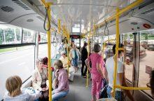Po kelionės troleibusu – daugybiniai sužalojimai
