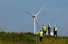 """""""Renerga"""" planuoja didinti elektros energijos gamybą iš vėjo"""