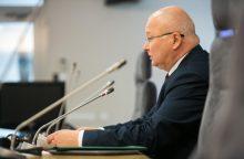 Z. Vaigauskas: jei pirmininkas sudaro problemų, keisti reikia ne komisiją