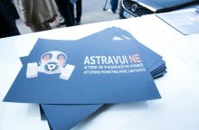 Estijos prezidentė: Europa neturėtų priimti nesaugios Astravo AE elektros