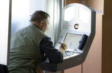 Pradeda veikti nauja dokumentų išrašymo mašina, pasą pagamins per dieną