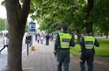 Rasti pavogtus daiktus padėjo policija ir išmanusis telefonas