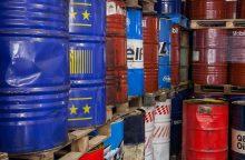 Padėtis – grėsminga: alyvos atliekos ir toliau deginamos