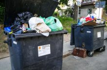 Vilniaus meras atliekų vežėjams turi dvi žinias