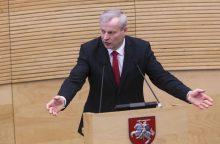 M. Bastys iš Seimo išeina palikdamas daug neatsakytų klausimų